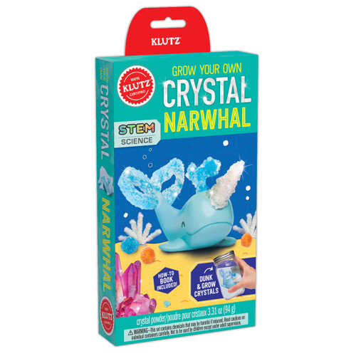 Grow Your Own Crystal Narwhal Kit