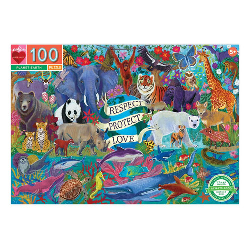 Planet Earth 100 Piece Jigsaw